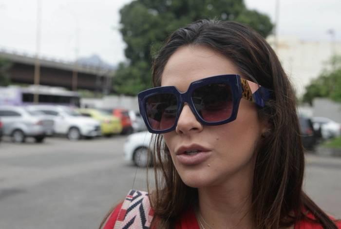 Shanna Harrouche Garcia, filha do bicheiro Waldomiro Paes Garcia, o Maninho
