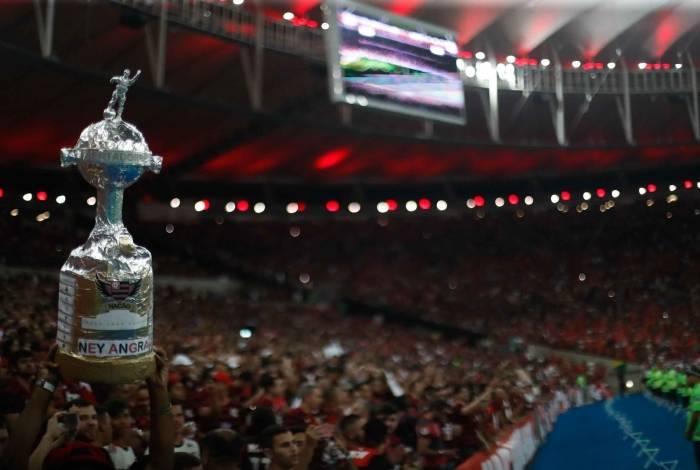 Torcida do Flamengo fez um show no Maracanã