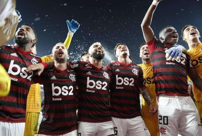 Rio, 23/10/2019, Copa Libertadores jogo entre Flamengo x Gremio válido pela semifinal no Maracanã, Foto de Gilvan de Souza / Agencia O Dia
