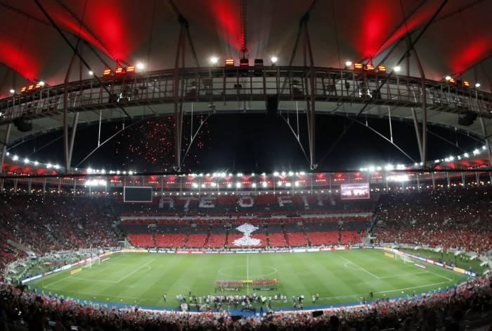 Maracanã terá telões espalhados para rubro-negros assistirem a decisão da Libertadores, dia 23