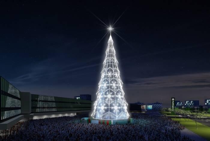 Árvore de Natal do BarraShopping
