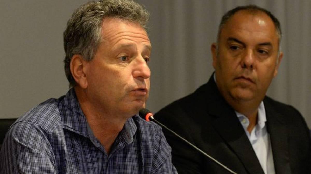 Marocs Braz exaltou o trabalho do presidente Rodolfo Landim