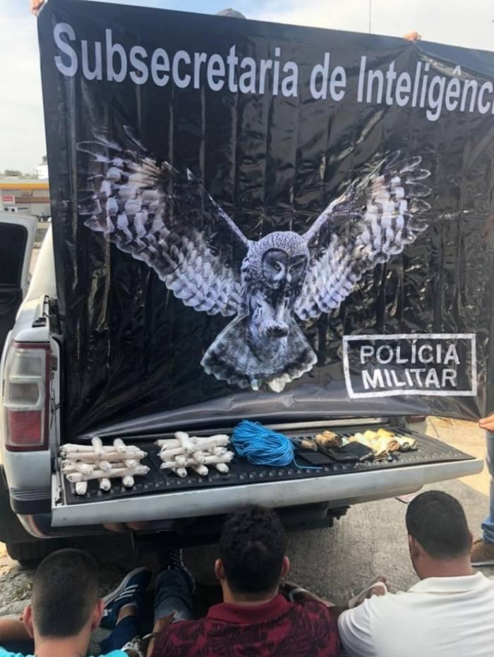 Criminosos foram encontrados na Avenida Brasil