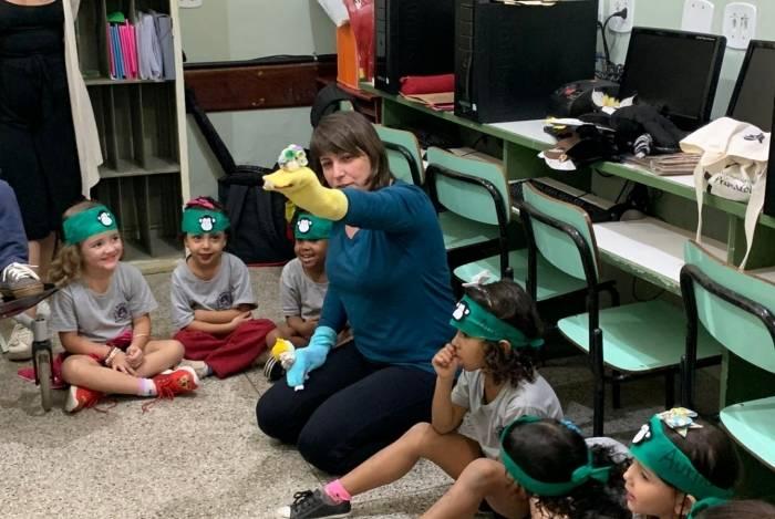 Projeto Aurita realiza visitas a escolas da rede pública municipal de Petrópolis e promove atividades pedagógicas com estudantes