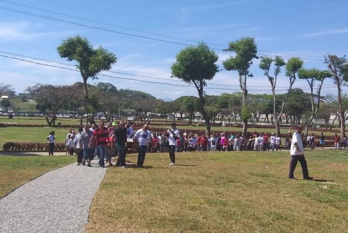 Jovem foi sepultado no Cemitério Jardim da Saudade, em Sulacap