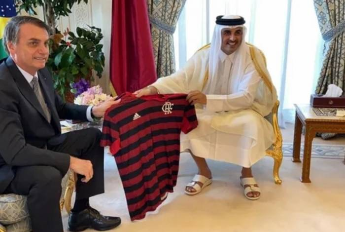 Bolsonaro voltou a falar do Flamengo