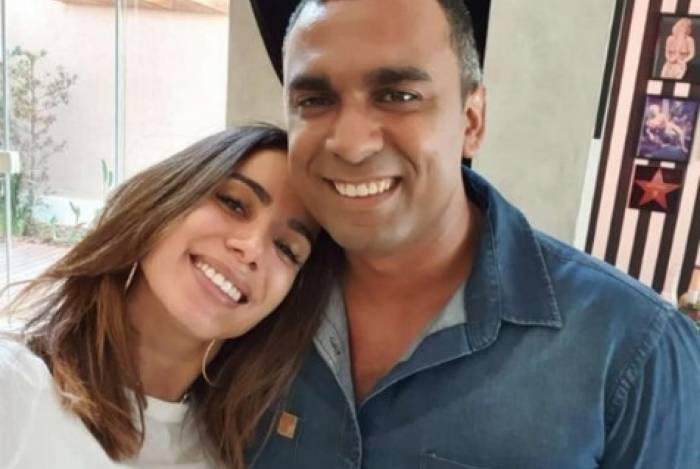 Anitta e o irmão Felipe Terra