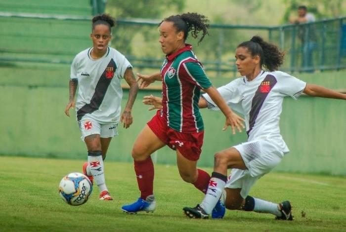 Fluminense e Vasco disputarão domingo, nas Laranjeiras, a vaga na final do Carioca Feminino