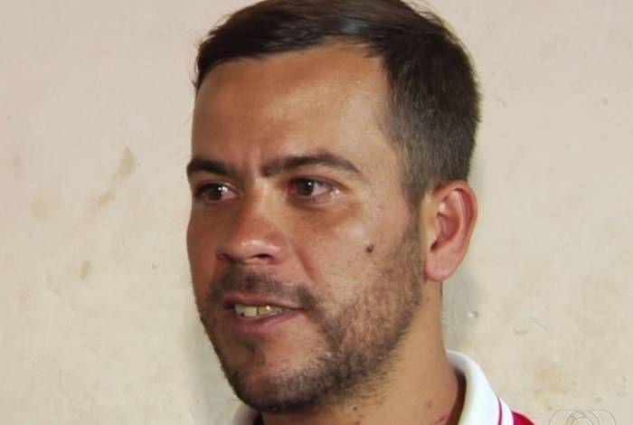 Rogério Cardoso de Almeida, pai do bebê incinerado por engano