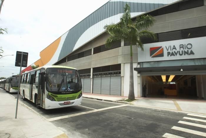 Preparativos para a inauguração do Shopping Via Rio Pavuna, do Grupo GR - 3.