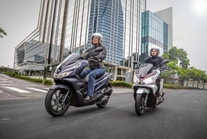 Scoooter da Honda mudou apenas detalhes para a linha 2020