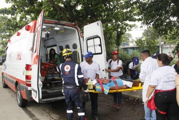 Caxias reúne milhares de voluntários em ação de prevenção