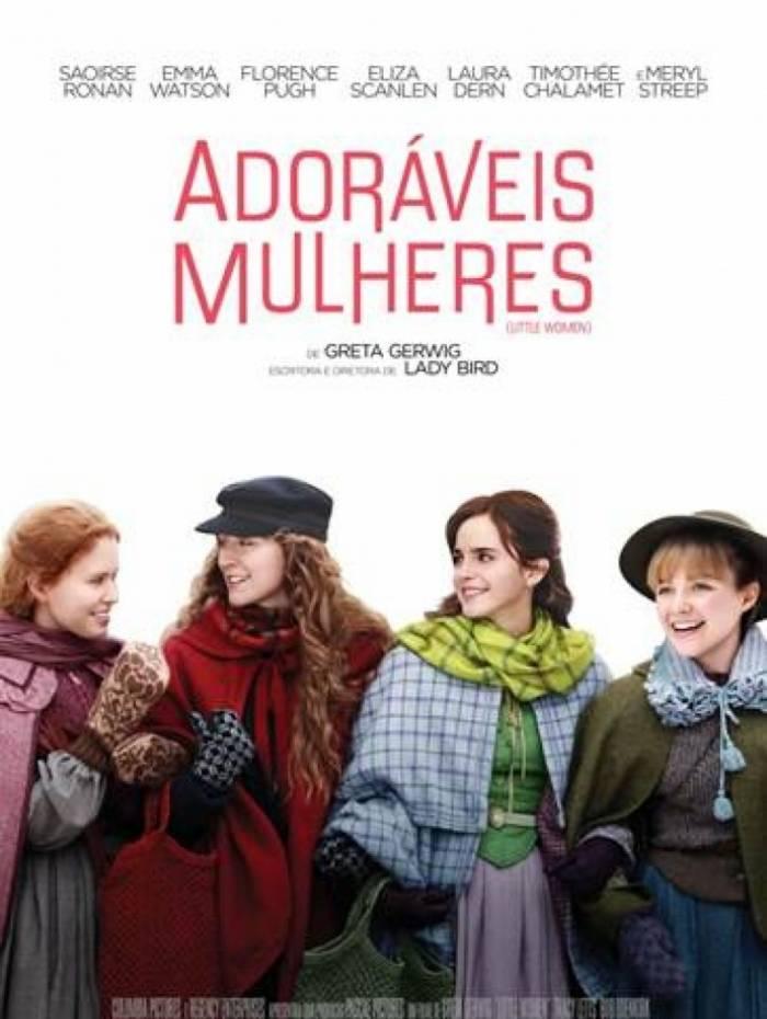 'Adoráveis Mulheres' chega aos cinemas brasileiros no dia 9 de janeiro de 2020