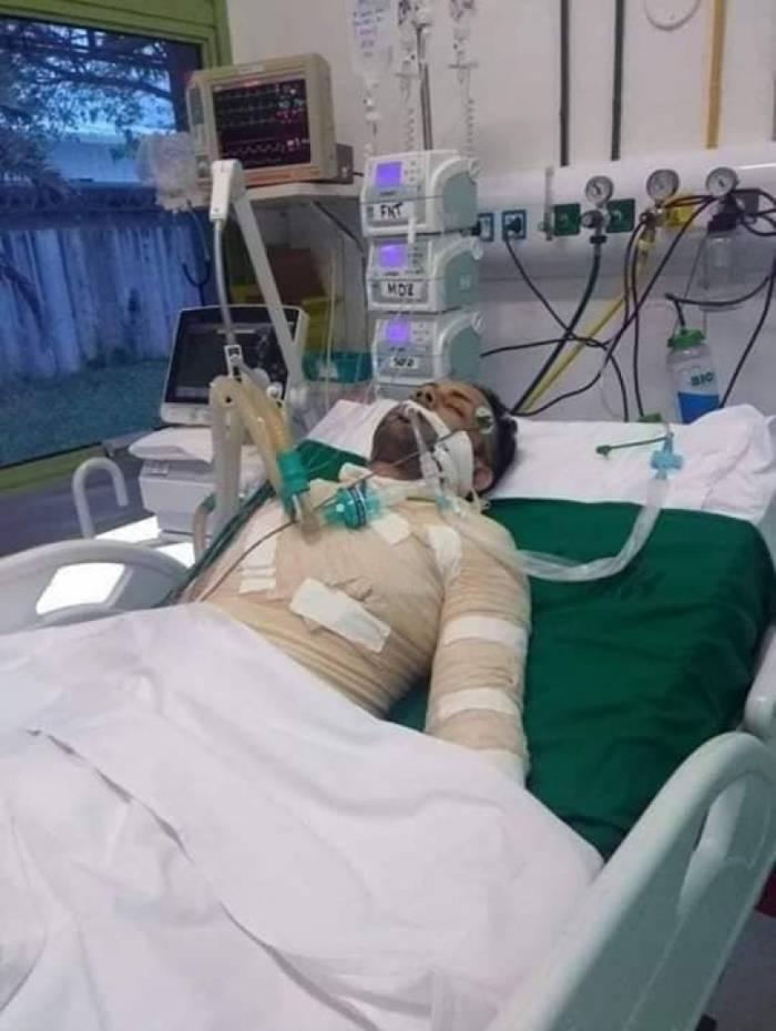 Jovem segue internado no Hospital Municipal Lourenço Jorge