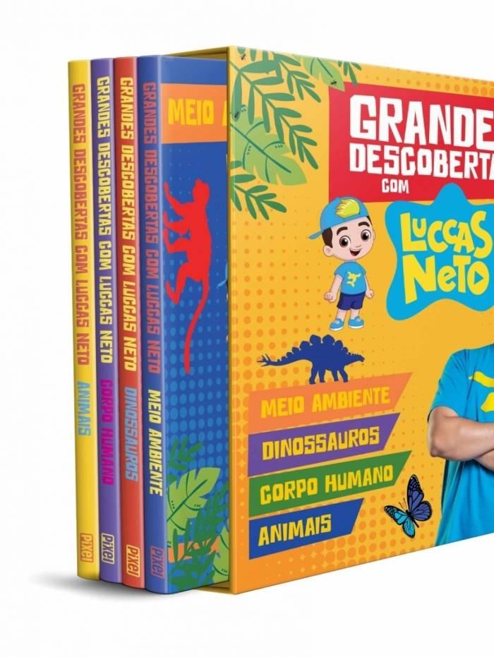 Luccas Neto lança livros de curiosidades