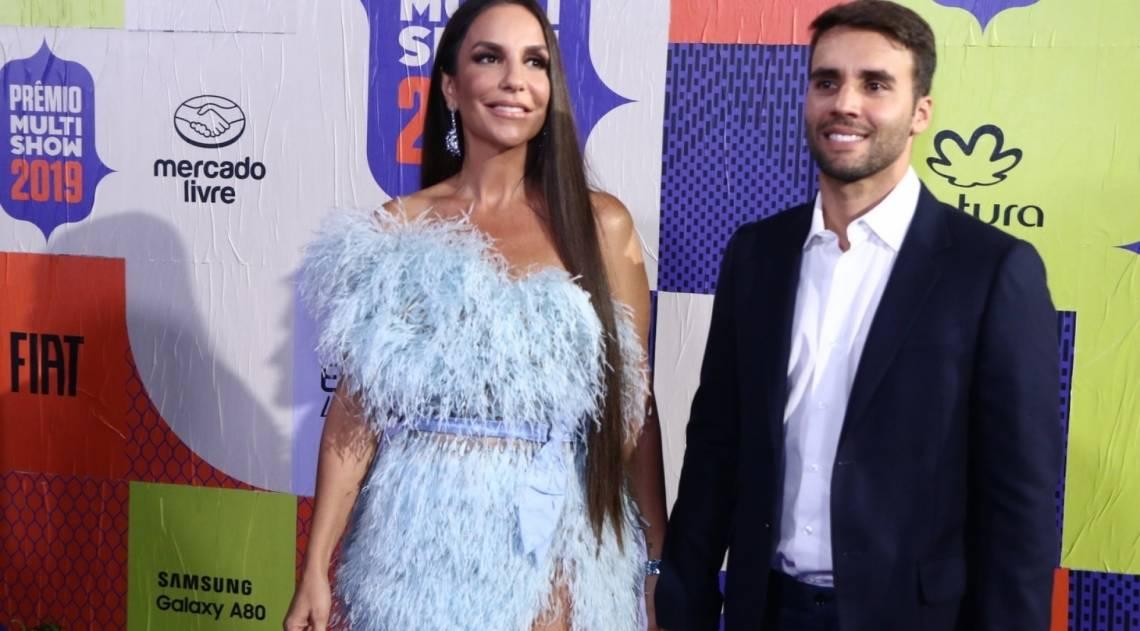 Ivete Sangalo e o marido, Daniel Cady