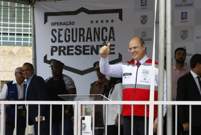 Declaração do governador foi dada após evento do projeto Segurança Presente em Nova Iguaçu
