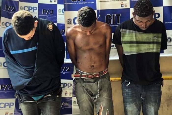 Criminosos foram capturados em Higienópolis
