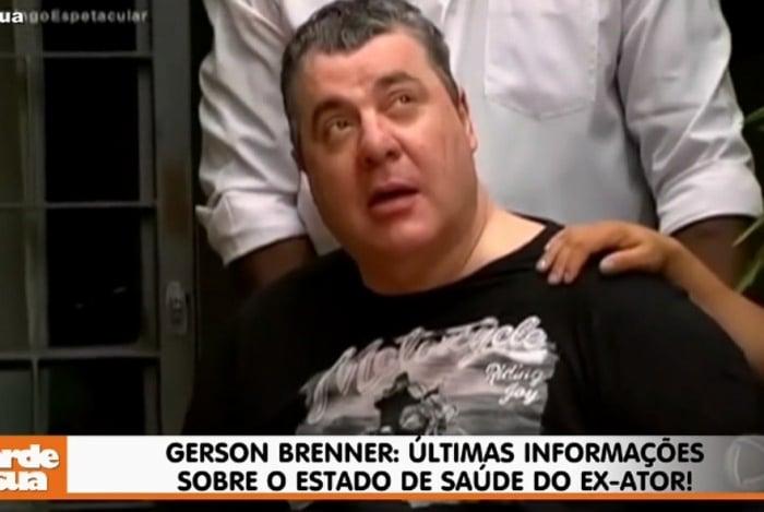 Gerson Brenner dorme por horas seguidas