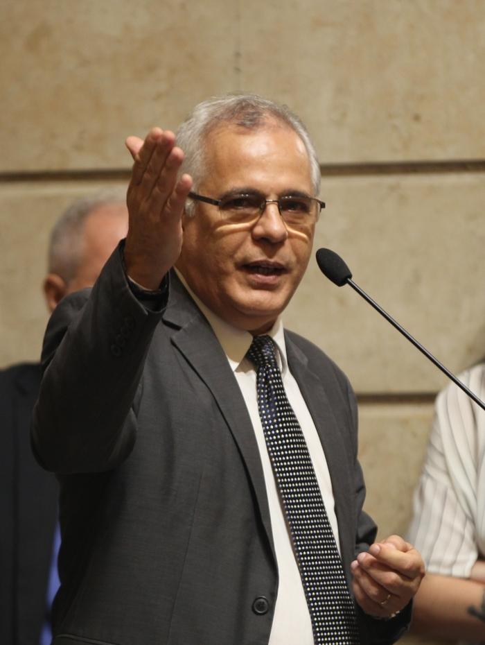 Vereador Fernando William, que foi presidente da CPI da Linha Amarela