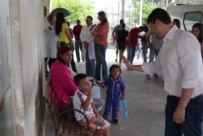 Prefeito Bernardo Rossi visitou o Pronto Socorro