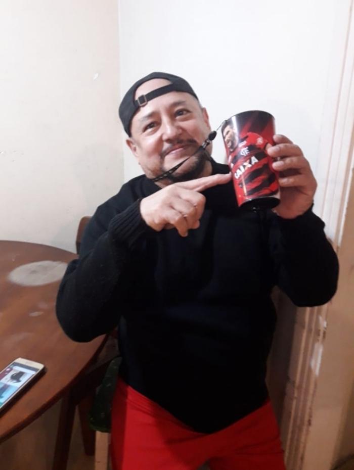 Rodolfo Dorador Espinoza é peruano e torcedor do Flamengo