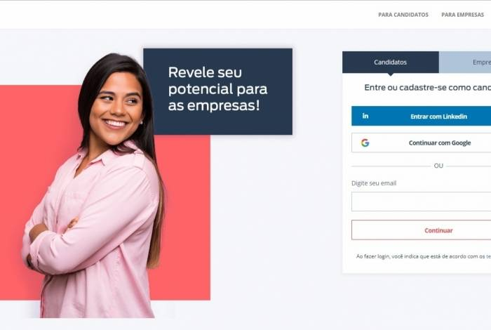 Trabalhadores interessados podem procurar ambiente virtual por meio do portal da Revelo