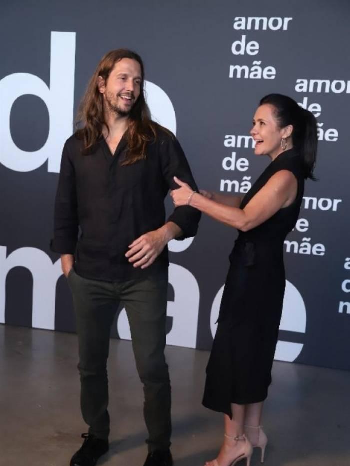 Vladmir Brichta e Adriana Esteves