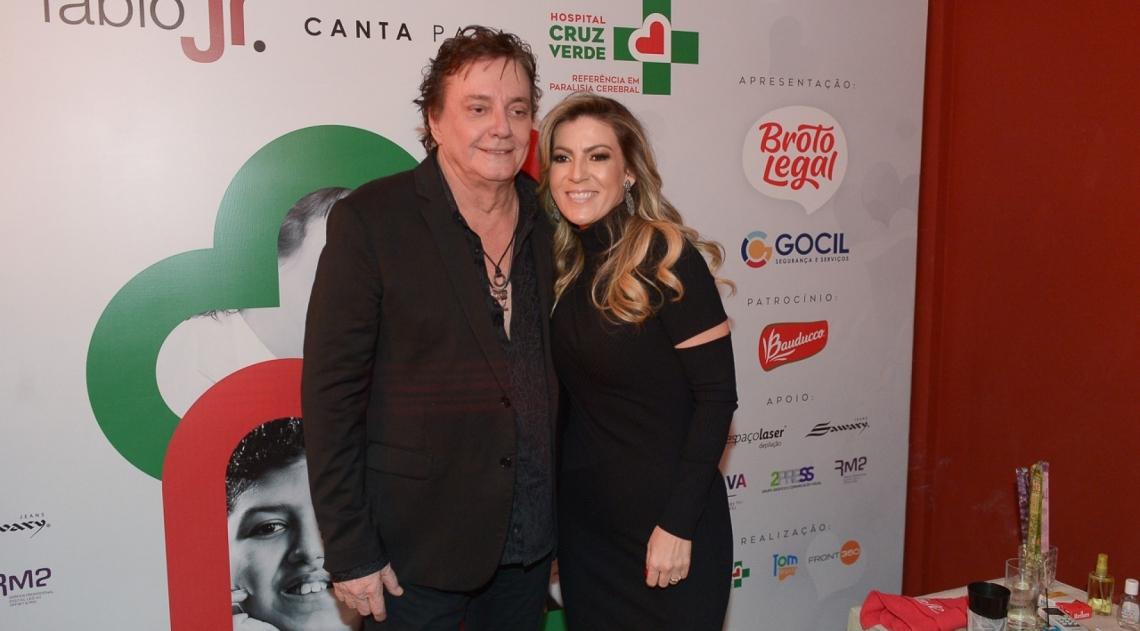 Fábio Jr. e a mulher, Maria Fernanda