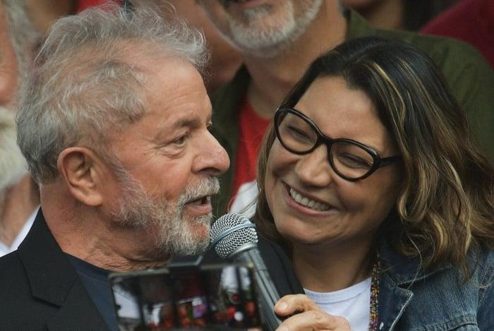 Ex-presidente Lula e sua namorada