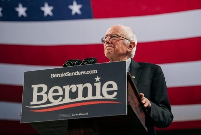 Bernie Sanders, pré-candidato a presidente dos Estados Unidos pelo Partido Democrata
