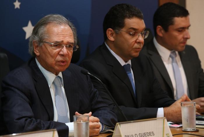 Ministro Paulo Guedes e secretário do Tesouro, Mansueto Almeida, são os maiores defensores da reforma