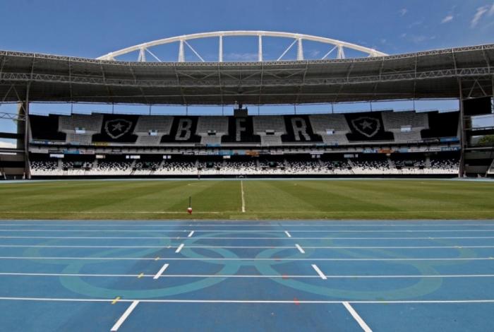 Botafogo manda suas partidas no Estádio Nilton Santos
