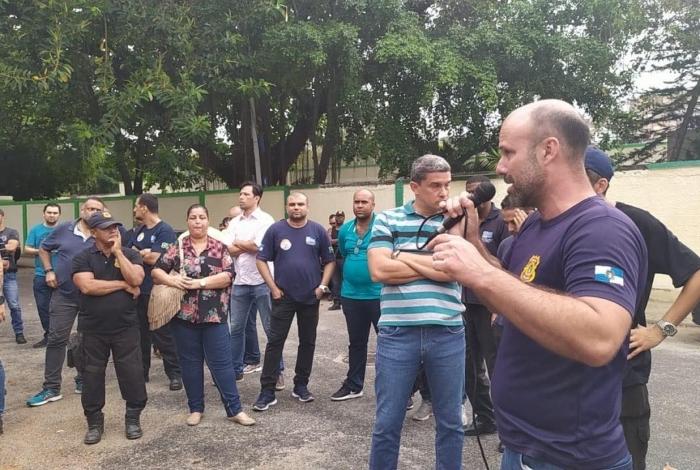 Assembleia dos agentes do Degase ocorreu nesta sexta-feira