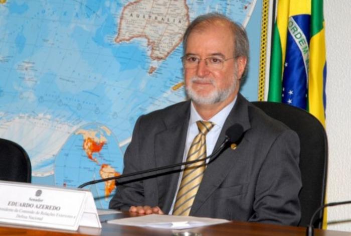 Ex-governador de Minas Gerais, Eduardo Azeredo (PSDB)