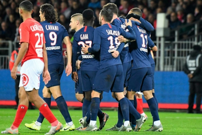 PSG bateu o Brest neste sábado por 2 a 1
