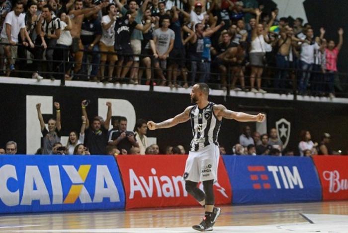 Botafogo conta com apoio da torcida no NBB