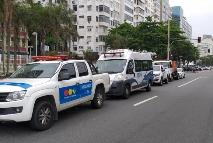 Mutirão da Ordem Pública, da Prefeitura, inicia ações de ordenamento pela orla da Zona Sul