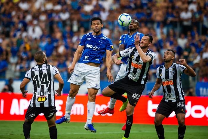 Cruzeiro e Atlético-MG ficaram no 0 a 0