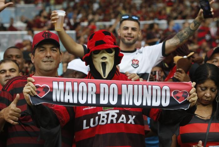 A torcida tem motivos de sobra para encher a bola do Flamengo