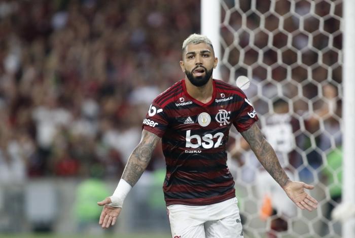 Com a camisa do Flamengo, Gabigol vive seu melhor momento na carreira