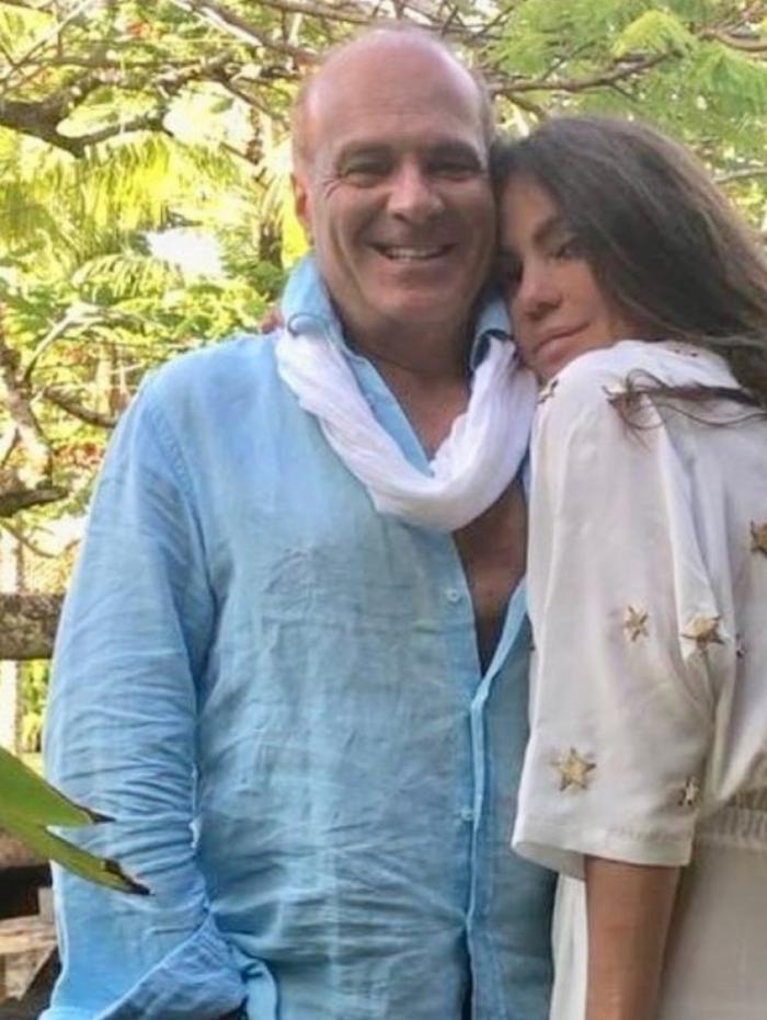 Marcelo de Carvalho e Simone Abdelnur em Ilhabela