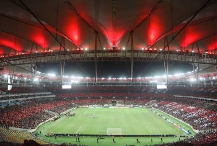 O Maracanã será um dos estádios a receber evento na decisão da Libertadores: 10 mil ingressos já vendidos