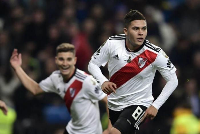 Quintero foi fundamental para o River na decisão da Libertadores 2018