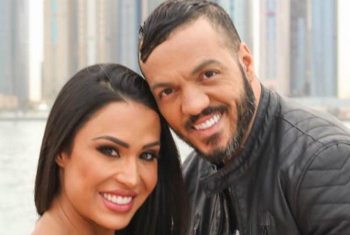 Belo e Gracyanne Barbosa