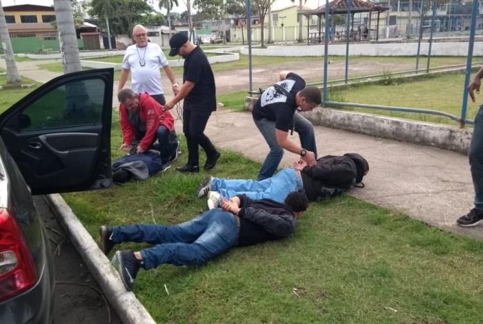 Sequestradores acabaram presos pela Delegacia Antissequestro (DAS)