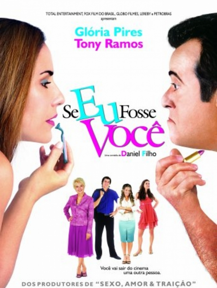 Cartaz do filme 'Se Eu Fosse Você'