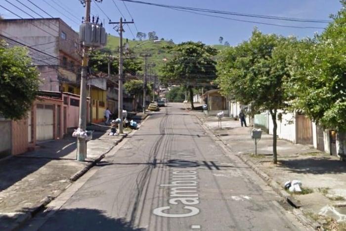 Rua Cambuci do Vale, Vicente de Carvalho,