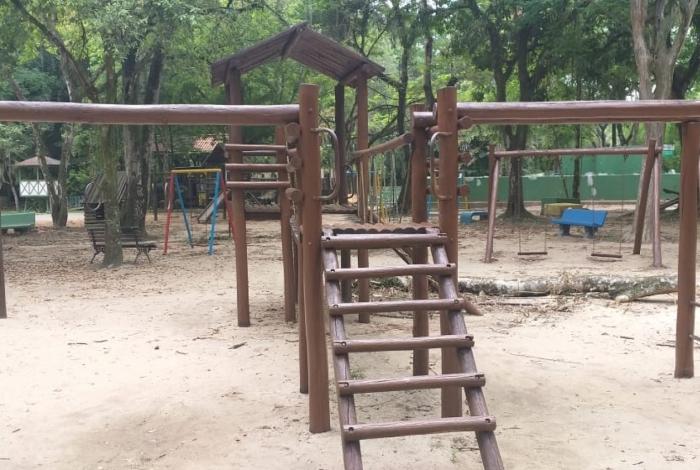 Obras de infraestrutura e revitalização do Zoológico Municipal de Volta Redonda na Vila Santa Cecília