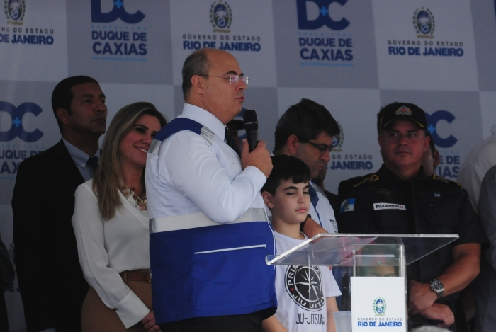 Wilson Witzel inaugura Segurança Presente em Duque de Caxias